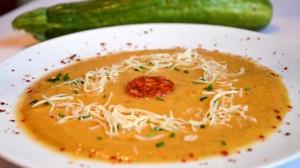 Recette de Soupe courgette et chorizo