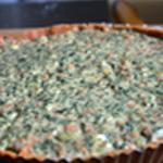 Tarte épinard et chorizo Egaliser la pâte