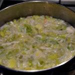 Potage aux moules Couvrir d'eau