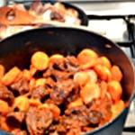 Boeuf aux carottes Ajouter les carottes