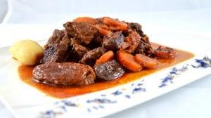 Recette de boeuf aux carottes