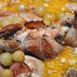 Caille et foie gras Dégraisser la sauce