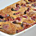 Clafoutis aux figues Terminer