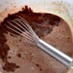 Crème et chocolat Fondre le chocolat