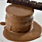 Crème et chocolat Terminer