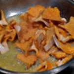 Grenadin de veau et foie gras Saisir les chanterelles