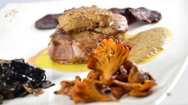Grenadin de veau et foie gras Terminer