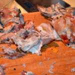 Jambon persillé Désosser la viande