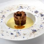 Moelleux chocolat et caramel Terminer