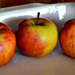 Pomme au four Les pommes