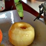 Pomme au four Ajouter la vanille