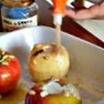 Pomme au four Ajouter le sucre