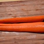 Soupe de carottes Éplucher les carottes