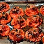 Tarte à la tomate Tomate confite