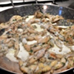 Cuisses de grenouille Ajouter la crème