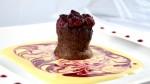 Moelleux au chocolat et framboises