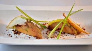 Foie gras et poire Terminer