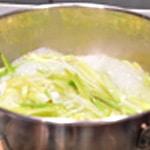 Huitre fondue de poireaux Crémer la fondue de poireaux