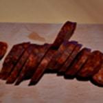 Omelette pomme de terre Trancher le chorizo