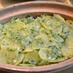 Parmentier au cananrd Terminer par les pommes de terre
