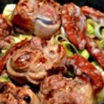 Paupiette de porc à la fondue de poireaux Ajouter les poireaux