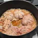 Paupiette de veau à la tomate Laisser cuire doucement
