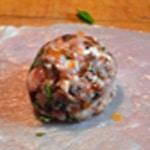 Paupiette de veau à la tomate Poser sur l'escalope
