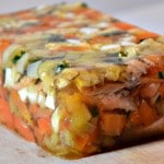 Hure de saumon Terminer