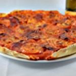 Pizza chorizo et tomate Zoom