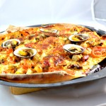 Pizza fruits de mer Terminer