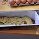 Cake pistache chocolat Une couche pistache