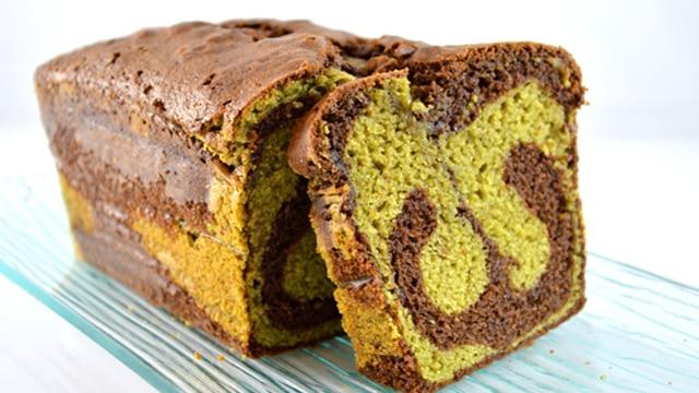 Cake pistache chocolat Terminer