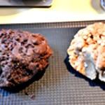 Cookies ange ou démon Former deux pâtons