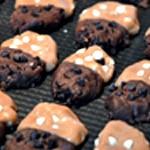 Cookies ange ou démon Aplatir avec la main