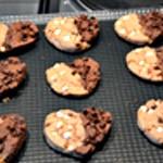 Cookies ange ou démon Cookies en forme de coeur