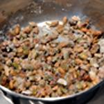 Financier à la pistache Le sucre cristallise au contact des pistaches