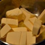 Financier à la pistache Fondre pour beurre noisette