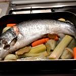Hure de saumon végétarien Cuire le saumon