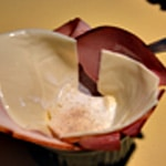 Oeuf cocotte au jambon Ajouter crème et fromage
