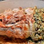 Poitrine de veau farcie Poitrine cuite