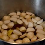 Potée de chou Blanchir les légumes