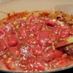 Sauce tomate facile Laisser réduire doucement