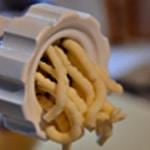 Gratin de macronis au jambon Hacher les fromages