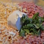 Gratin de macronis au jambon Ajouter le jambon