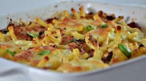 Recette de Gratin de macaroni au jambon