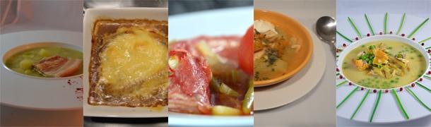 Recettes de soupes et potages