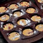 Muffin à la framboise Prêt pour le four