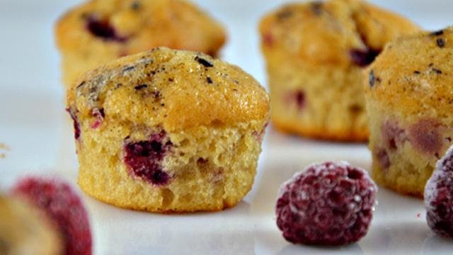 Muffin à la framboise Terminer