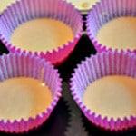 Muffin cranberry Verser dans les moules