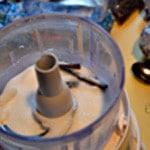 Muffin cranberry Mixer sucre et vanille